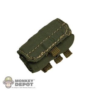 Pouch: Crazy Dummy Shotgun Ammo Green MOLLE