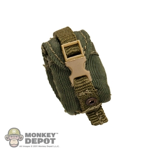 Pouch: Crazy Dummy Frag Grenade Green MOLLE