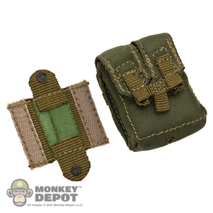 Pouch: Crazy Dummy SAW 200 Round Green MOLLE