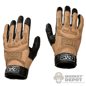 Hands: Crazy Dummy Mechanix Gloved Bendy (No Pegs)