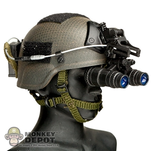 Helmet: Crazy Dummy MICH w/PVS-15 NVG, Battery Pack