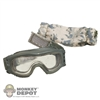 Goggles: Crazy Dummy ESS w/Cover (Velcro Type)
