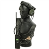 Radio: Crazy Dummy MBITR w/Sordin Neck Strap Headset and PTT