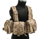 Vest: Crazy Dummy LBT 1961H 7.62mm Chest Rig - AOR1 Camo