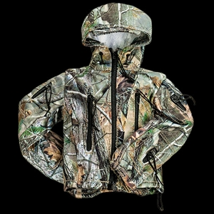 Jacket: Crazy Dummy Softshell Real Camo