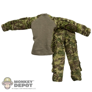 Uniform: Crazy Dummy ACU Milticam