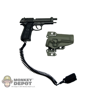 Pistol: Crazy Dummy Beretta M9 Pistol w/ CQC Chest Holder