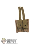 Pouch: Crazy Dummy Double 44mm Grenade Pouch - Multicam