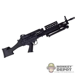Rifle: Crazy Dummy MK46 MOD0 Rifle Stock - Black