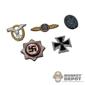 Medal: Crazy Dummy 5 Piece Medal Set