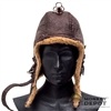 Helmet: Crazy Dummy Flying Leather Helmet