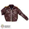 Jacket: Crazy Dummy Flying Leatherlike Pilot Jacket