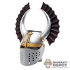 Helmet: Coo Models Metal Teutonic Knight Helmet