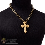 Necklace: Coo Models Cross Necklace