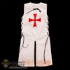 Robe: Coo Models Sleeveless White Robe of Crusades
