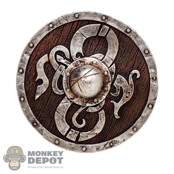 Monkey Depot Shield Coo Models Viking Shield Wback Strap Plastic