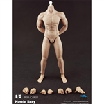 Boxed Figure: COO Models Rubber Muscular Body (34005)