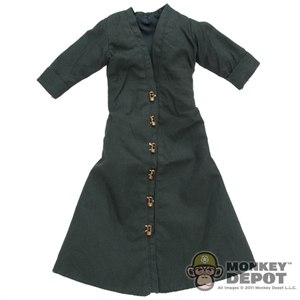 Robe: Cosplay Green Snap Up Robe
