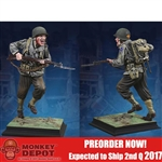 Statue: Collectors Showcase US Ranger at Pont Du Hoc (CS60006)