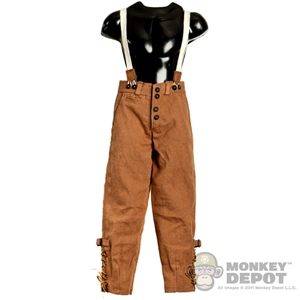 Pants: Cal Tek French WWII Trousers W/ Suspenders