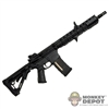 Rifle: CalTek LaRue Tactical Custom OBR Hybrid AR15 w/ 14-inch Barrel
