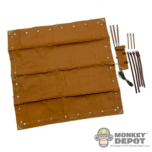 Tool: CalTek M1892 Red-brown Tent Square & Equipment