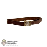 Belt: CalTek German WWI M1895 Belt Brown Leatherlike