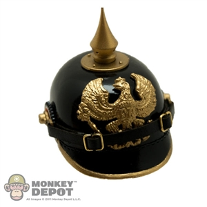 Helmet: CalTek German WWI M1895 Pickelhaube w/ Brass Fittings