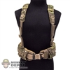 Belt: CalTek Camo Belt w/Harness