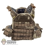Vest: CalTek Tactical Tailor Fight Light Plate Carrier In A-TACS Camo