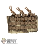 Pouch: CalTek 5.56 Triple Mag Panel In A-TACS Camo