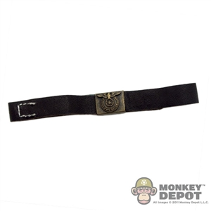 Belt: Cal Tek German WWII SS Black w/ Dark Buckle