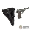 Pistol: Cal Tek German WWII Walther P38 w/ Holster