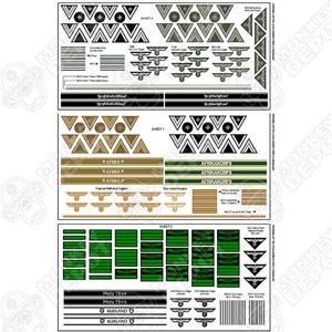 Insignia CVI German Army Sleeve Rank Set