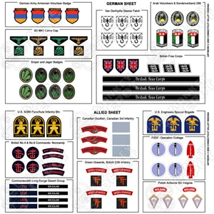 Insignia CVI 2004 Bonus Patch Collection