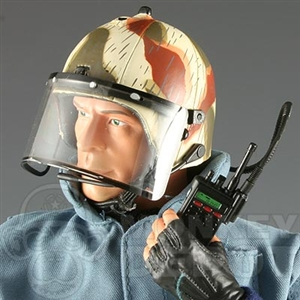 Helmet Dragon GSG9 radio