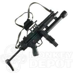 Rifle Dragon MP5 A3  mag light