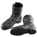 Boots Dragon German WWII Fallschirmjager front lacing