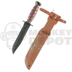 Knife Dragon US KBAR Brown Sheath