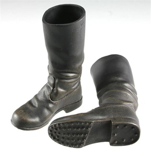 Boots Dragon German WWII New Pattern Weathered Jackboots