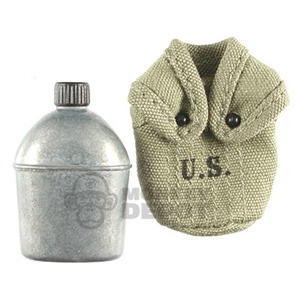 Canteen Dragon US WWII metal CLOTH cover RTV VERSION