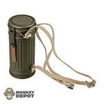 Gas Mask: Dragon German WWII Canister Green w/Webbing