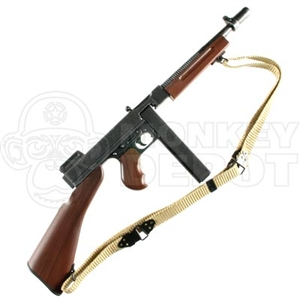Rifle: Dragon US WWII Thompson 1928 w/Kerr Sling