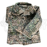 Tunic Dragon German WWII Pea Dot shoulder loops