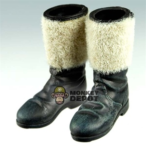Boots Dragon German WWII winter felt Flocked Version