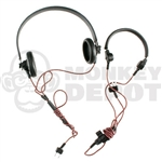 Radio Dragon German WWII Panzer Headset Brown Cables