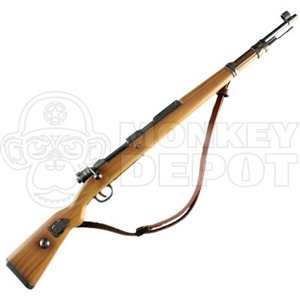 Rifle: Dragon German WWII K98 Leather Sling Lighter Stock