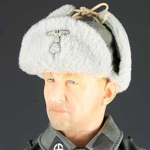 Hat Dragon German WWII SS Winter Fur