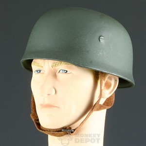 Helmet Dragon German WWII Fallschirmjager Gray New Liner Type