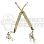 Harness Dragon US WWII M36 Suspenders Loop Hook Version